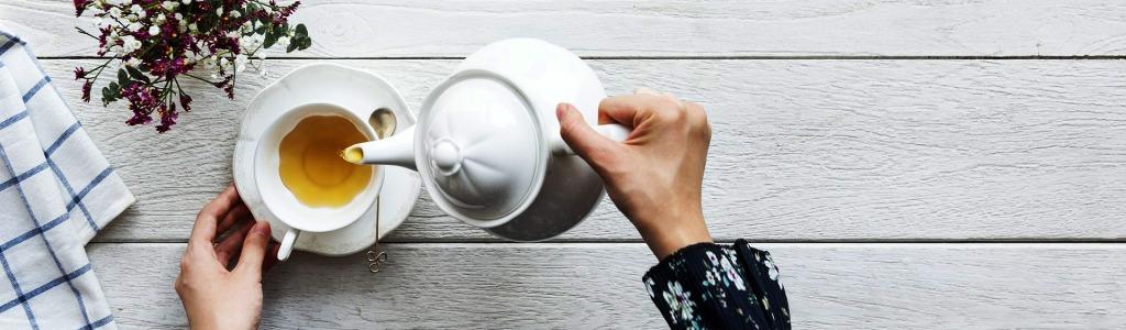 De gezonde theedrinker